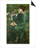 Day Dream, 1880 Posters by Dante Gabriel Rossetti