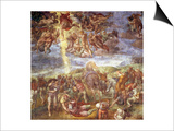 Conversion of St. Paul Prints by  Michelangelo Buonarroti