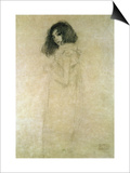 Portrait of a Young Woman, 1896-97 Posters by Gustav Klimt