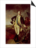 George Washington at Princeton Prints by Charles Willson Peale