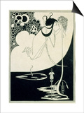 "The Climax, Illustration from ""Salome"" by Oscar Wilde, 1893 Print by Aubrey Beardsley"
