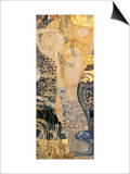Water Serpents I, c.1907 Art by Gustav Klimt