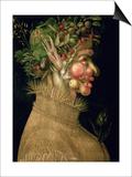 Summer, 1563 Posters af Giuseppe Arcimboldo