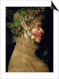 Summer, 1563 Posters by Giuseppe Arcimboldo