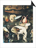 The Garden of Earthly Delights: Hell, Right Wing of Triptych, circa 1500 Poster by Hieronymus Bosch