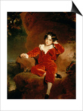 Master Charles William Lambton, 1825 Plakater af Thomas Lawrence