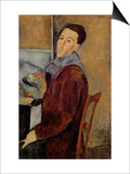 Self Portrait, 1919 Print by Amedeo Modigliani