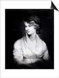Portrait of Mary Wollstonecraft Godwin Author of a Vindication of the Rights of Woman Prints by John Opie