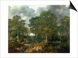 "Gainsborough's Forest (""Cornard Wood""), circa 1748 Posters by Thomas Gainsborough"