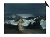 Summer Night, 1890 Print by Winslow Homer
