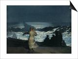 Summer Night, 1890 Print by Winslow Homer