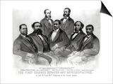 The First Colored Senator and Representatives, in the 41st and 42nd Congress of the United States Print