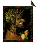Winter, 1573 Posters par Giuseppe Arcimboldo
