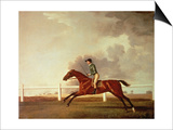 Bay Malton with John Singleton Up, circa 1767 Posters by George Stubbs