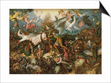 The Fall of the Rebel Angels, 1562 Prints by Pieter Bruegel the Elder