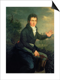 Ludvig Van Beethoven (1770-1827), 1804 Prints by Willibrord Joseph Mahler