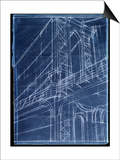 Bridge Blueprint I Posters by Ethan Harper