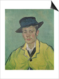 Portrait of Armand Roulin, c.1888 Plakater af Vincent van Gogh