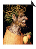 Winter Art by Giuseppe Arcimboldo