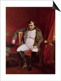 Napoleon (1769-1821) after His Abdication Art by Hippolyte Delaroche