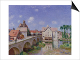 The Bridge at Moret, 1893 Prints by Alfred Sisley