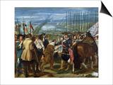 The Surrender of Breda, 1625, circa 1635 Kunst van Diego Velázquez