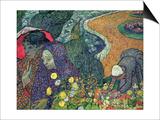 Ladies of Arles (Memories of the Garden at Etten), c.1888 Kunstdruck von Vincent van Gogh