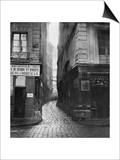Rue Tirechape, from Rue St. Honore, Paris, 1858-78 Art by Charles Marville