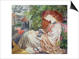 La Pia De Tolomei, 1868-80 Prints by Dante Gabriel Rossetti