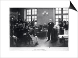 A Clinical Lesson with Doctor Charcot at the Salpetriere, 1887 Prints by Pierre Andre Brouillet
