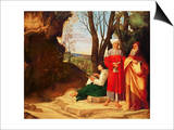 The Three Philosophers Prints by  Giorgione
