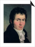 Ludwig Van Beethoven (1770-1827), 1804 Prints by Willibrord Joseph Mahler