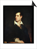 Portrait of Lord Byron Posters by Thomas Phillips