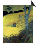 Harvest Scene Posters av Paul Serusier