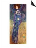 Emilie Floege Láminas por Gustav Klimt