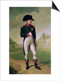 Napoleon I (1769-1821) in Front of the Chateau De Malmaison, 1804 Prints by Francois Gerard