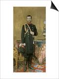 Portrait of Emperor Nicholas II Prints by Ilya Efimovich Repin