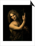 St. John the Baptist, 1513-16 Posters by  Leonardo da Vinci