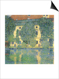 The Schloss Kammer on the Attersee, 1910 Posters by Gustav Klimt