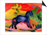 Little Blue Horse, 1912 Posters by Franz Marc