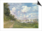 The Marina at Argenteuil, 1872 Posters by Claude Monet