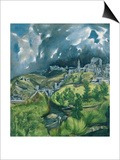 View of Toledo, circa 1597-99 Posters by  El Greco