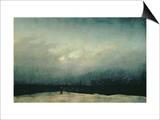 Caspar David Friedrich - Deniz Kenarındaki Keşiş, 1809 - Reprodüksiyon