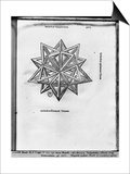 "Dodecahedron, from ""De Divina Proportione"" by Luca Pacioli, Published 1509, Venice Posters by  Leonardo da Vinci"