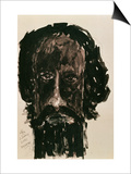 Self-Portrait Posters by Rabindranath Tagore
