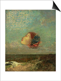 Homage to Goya, circa 1895 Posters by Odilon Redon