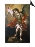 Saint Michael Banishes the Devil to the Abyss, 1665/68 Prints by Bartolome Esteban Murillo