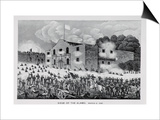 The Siege of the Alamo, 6th March 1836, from Texas, an Epitome of Texas History, 1897 Art