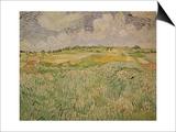 The Plain at Auvers, c.1890 Prints by Vincent van Gogh