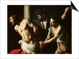 The Flagellation of Christ, circa 1605-7 Poster by  Caravaggio